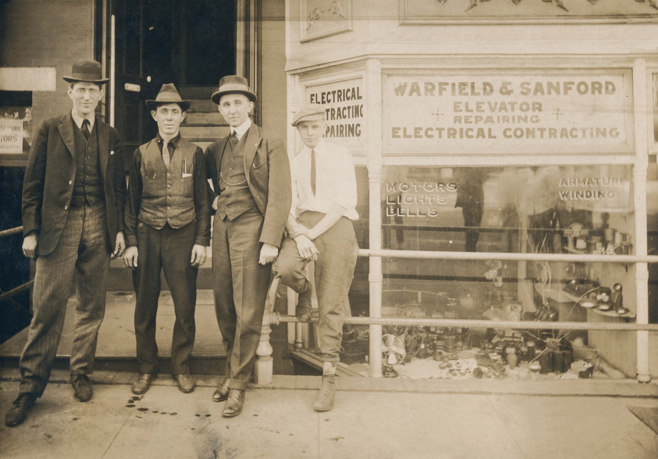 Warfield and Sanford vintage picture